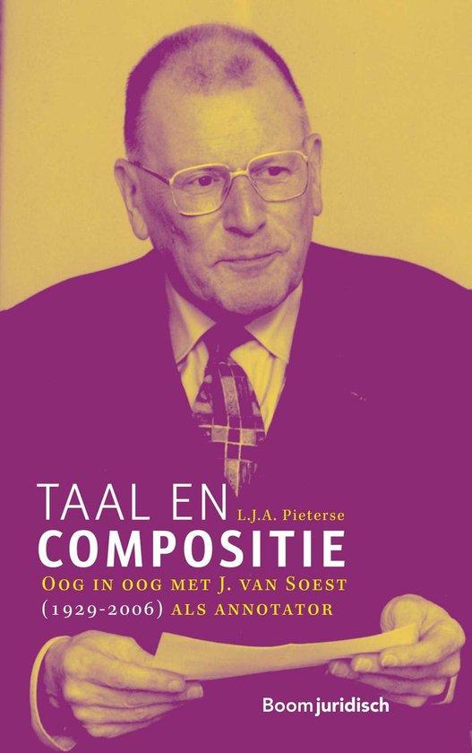 Taal en compositie - L.J.A. Pieterse | Fthsonline.com