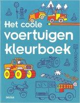 Deltas Kleurboek Coole Voertuigen
