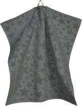 Sander keukendoek Frosty 50x50cm grijs