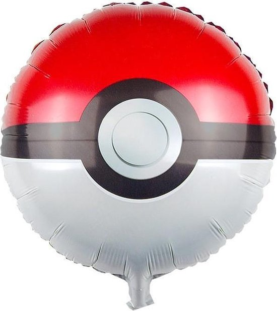 Pokemon Pokeball Ballon, Kinderballon, Folieballon, Pokémon