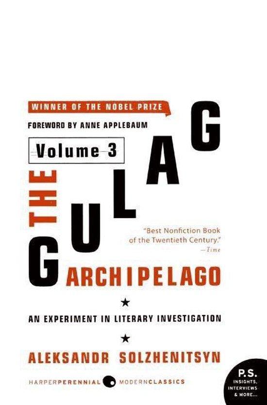 Boek cover The Gulag Archipelago van Aleksandr Solzhenitsyn (Paperback)