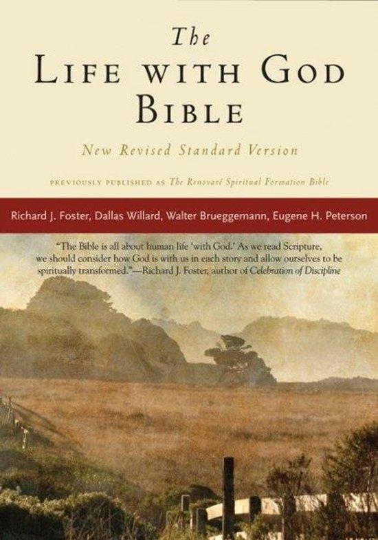 Boek cover NRSV, The Life with God Bible, Compact, Paperback van Richard J. Foster (Paperback)