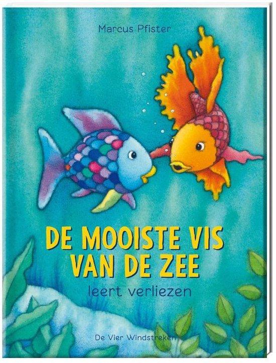 Boek cover De mooiste vis van de zee 8 -   De mooiste vis van de zee leert verliezen van Marcus Pfister (Hardcover)