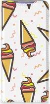 Samsung Galaxy S20 Flip Style Cover Icecream