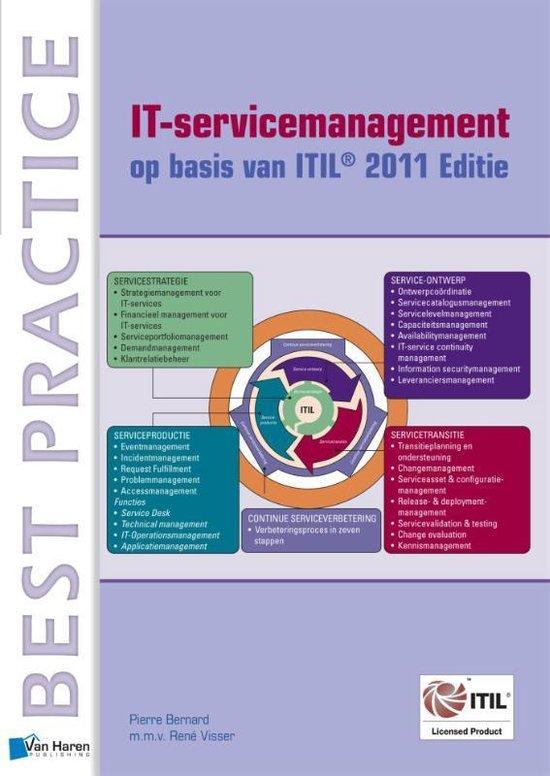 Cover van het boek 'IT-servicemanagement op basis van ITIL®  / 2011 Editie'