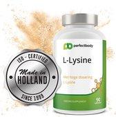 L-Lysine 1000 Mg - 90 L-Lysine Tabletten   Essentieel Aminozuur   Verhoogt Weerstand   PerfectBody.NL