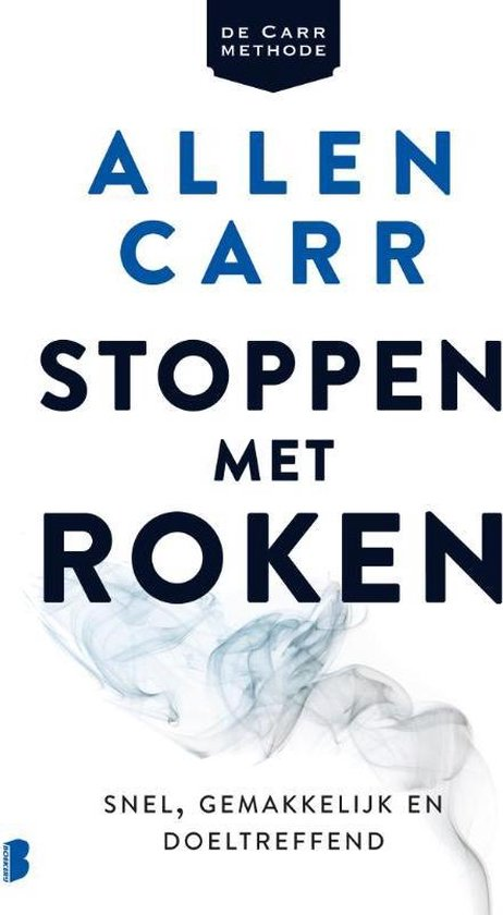 Boek cover Stoppen met roken van Allen Carr (Paperback)