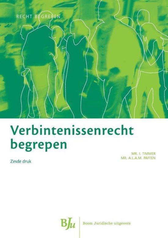 Verbintenissenrecht begrepen - A.L.A.M. Paffen pdf epub