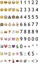 Emoticons & Cijfers Set A3 / A4
