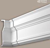 Binnenhoek Profhome 481022 Exterieur lijstwerk Hoeken voor Wandlijsten Gevelelement neo-classicisme stijl wit