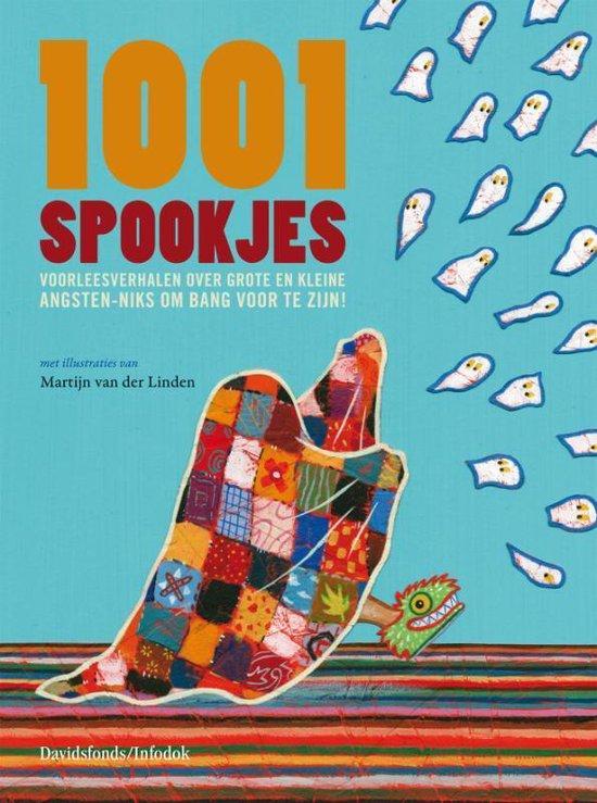Cover van het boek '1001 Spookjes' van K. de Prins