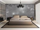 Silver | Gray Photomural, wallcovering