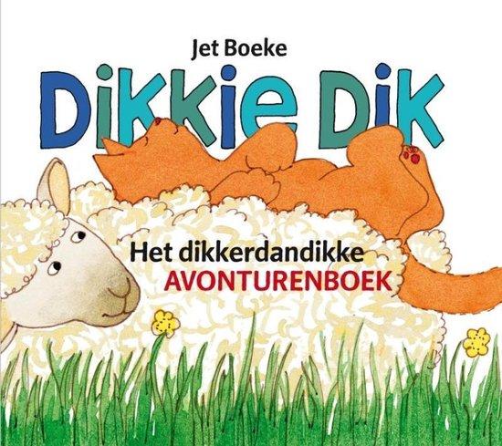 Boek cover Het dikkerdandikke avonturenboek van J. Boeke (Hardcover)