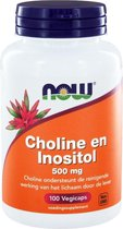 Choline en Inositol 500 mg - NOW Foods