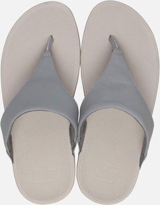 FitFlop Lulu Toepost slippers grijs - Maat 36 swJ4e8DZ