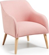 Kave Home Lobby - Fauteuil - Roze