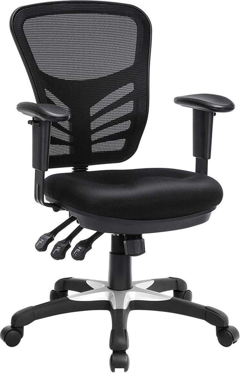 Nancy's Ergonomische Bureaustoel - Mesh Stoel - Vertelbaar - Bureaustoelen Voor Volwassenen