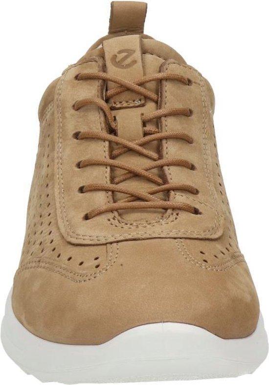 ECCO Flexure Runner Dames Sneaker Cognac Maat 38