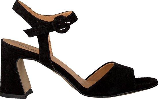 Notre-V Dames Sandalen 37848 - Zwart - Maat 37