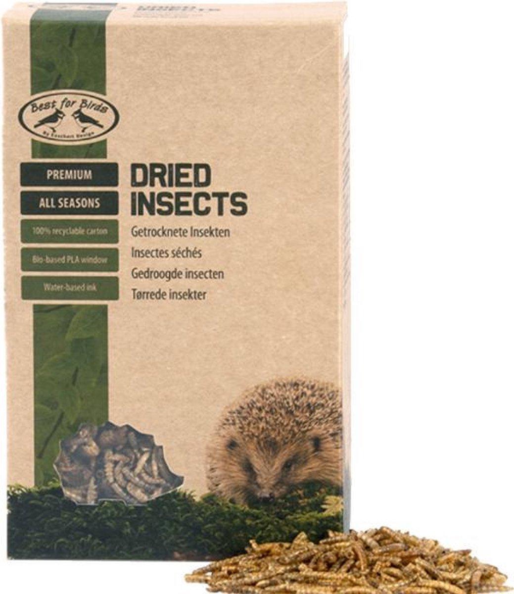 Gedroogde insecten - 250 gram