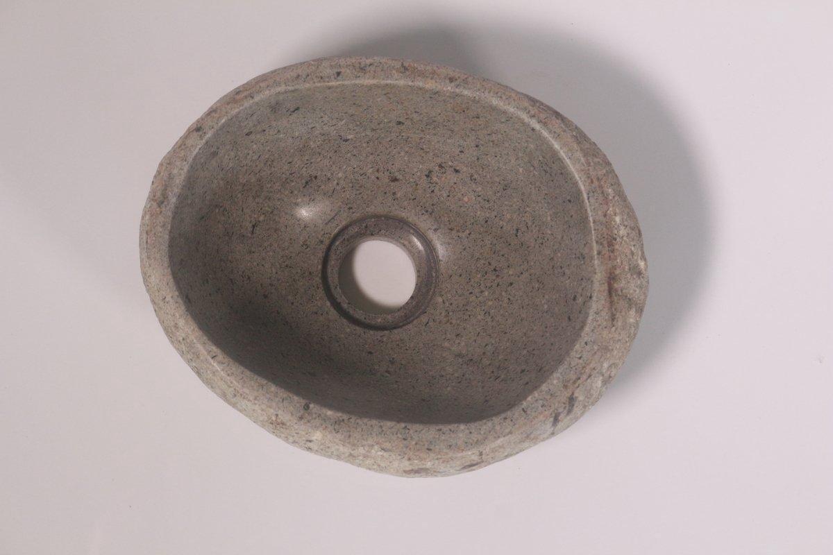 Natuurstenen waskom | DEVI-W21-257 | 26x20x12