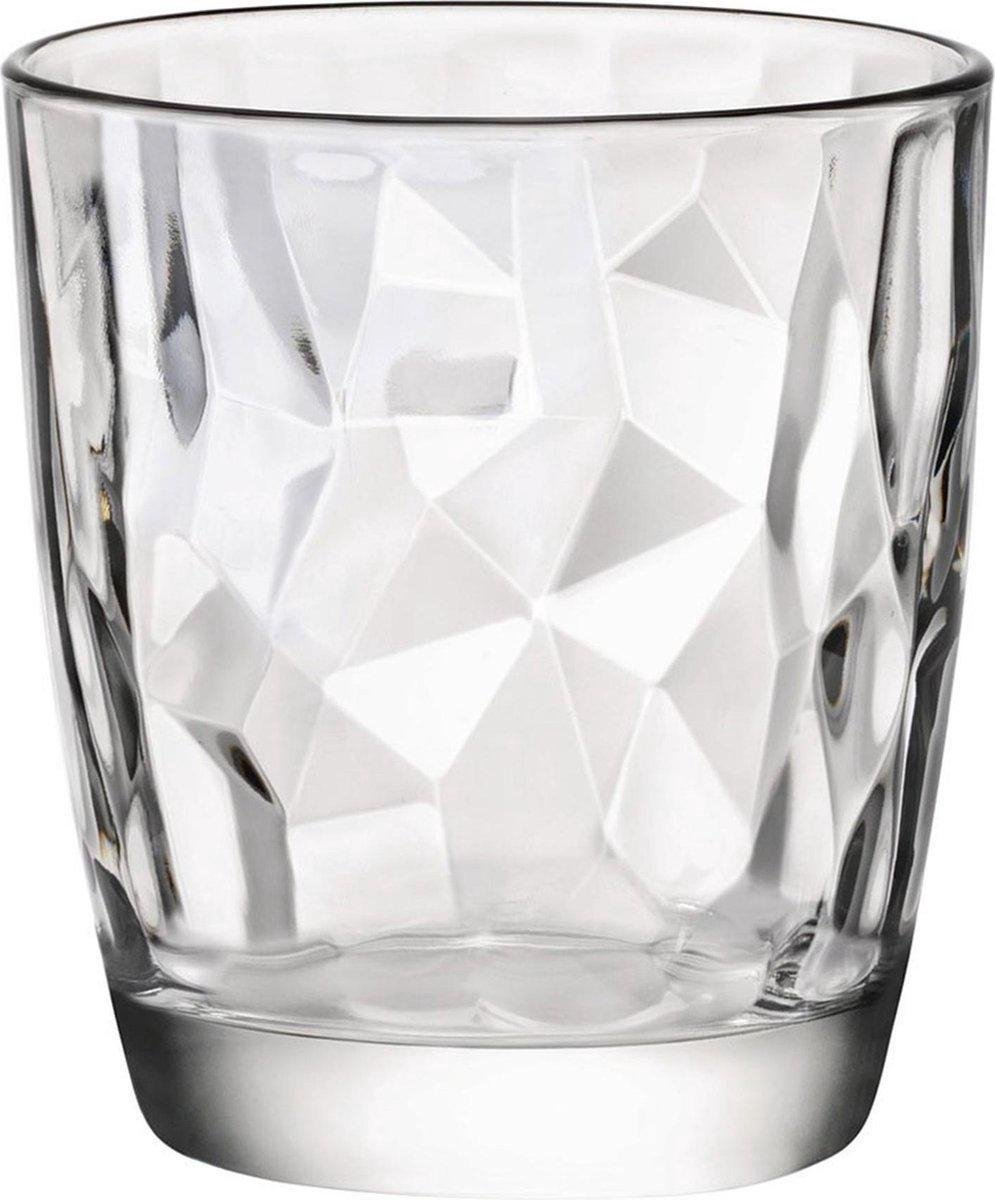 Bormioli Rocco Diamond waterglas - 30 cl - Set-6