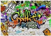 Artgeist Graffiti on the Wall Vlies Fotobehang 100x70cm