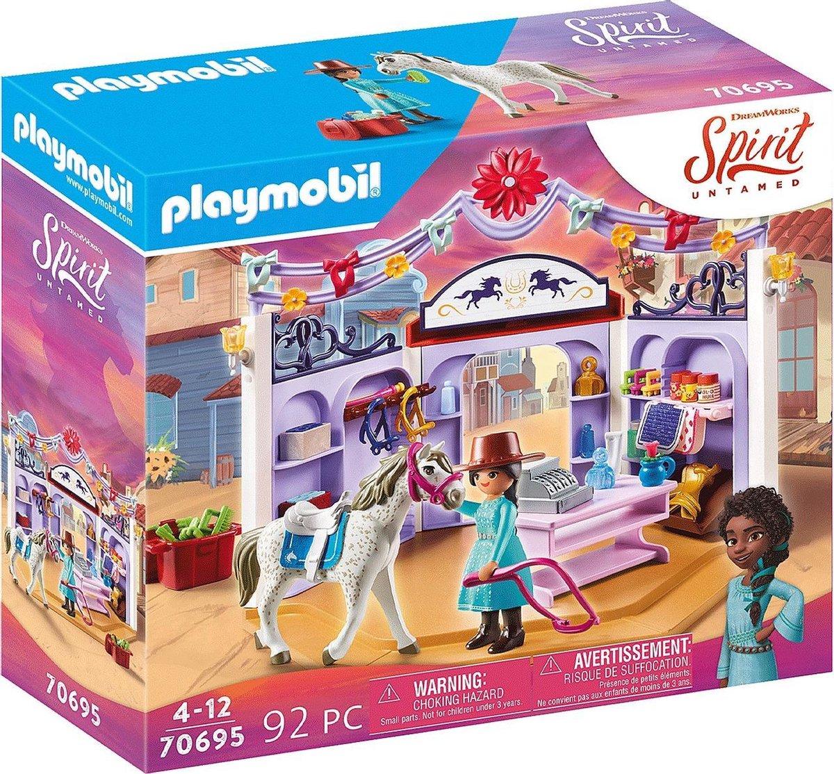 PLAYMOBIL PLAYMOBIL Spirit Riding Free: Miradero ruitersportwinkel (70695)