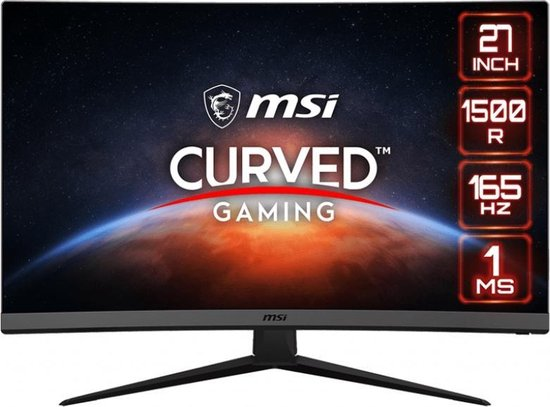 MSI Optix G27C7 - Full HD Curved Gaming Monitor - 165hz