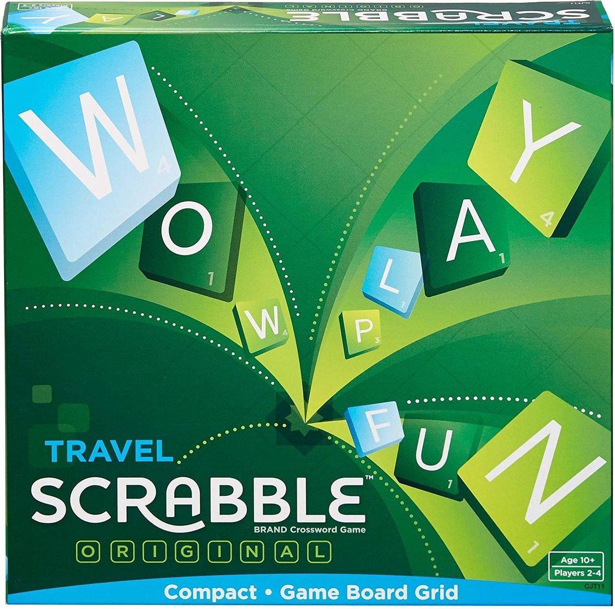 Scrabble Travel - Reiseditie - Bordspel