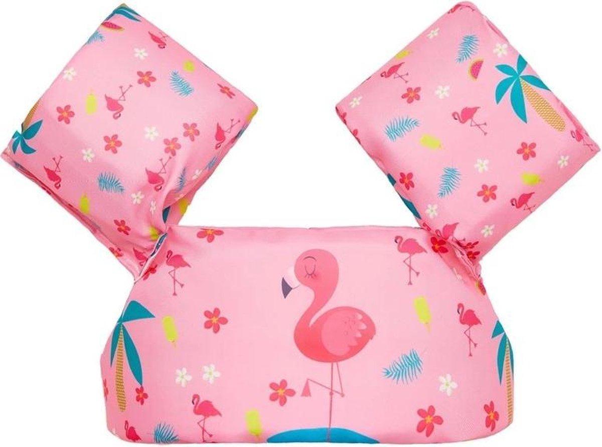Zwemvest kinderen - flamingo | 2 - 6 jaar | 15 - 25kg | Veilig zwemmen | Zwemband | Reddingsvest