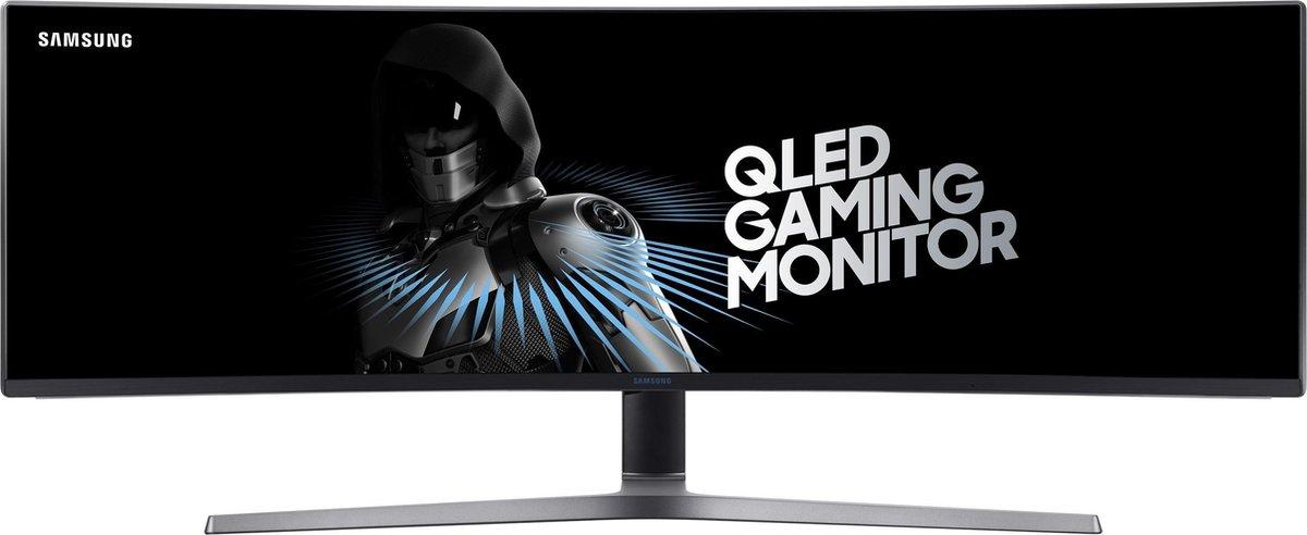 Samsung C49HG90DMU –  Gaming Monitor – Curved Dual HD VA – 144 Hz – Zwart