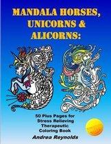 Mandala Horses, Unicorns & Alicorns