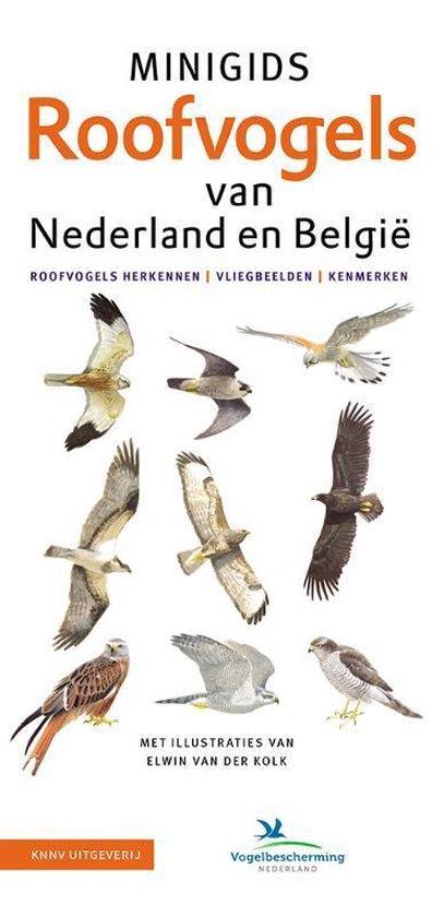Boek cover Minigids  -   Set Minigids Roofvogels van Nederland en Belgie van Jip Louwe Kooijmans (Onbekend)