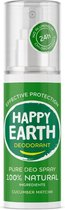 Happy Earth Pure Deodorant Spray Cucumber Matcha 100 ml - 100% natuurlijk
