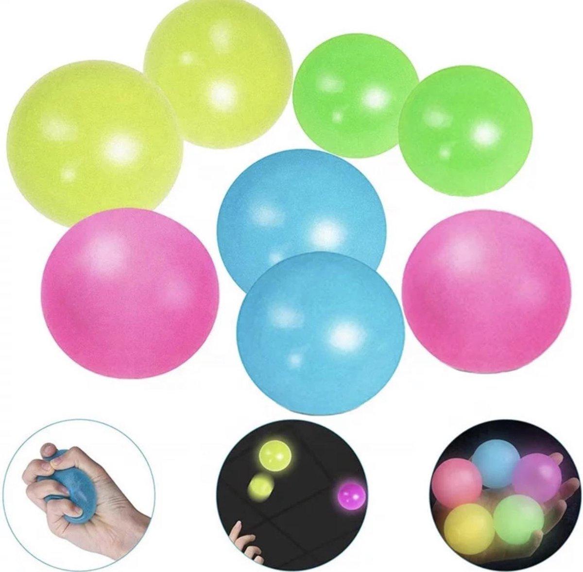 Without lemons   Fidget Sticky balls   globbles balls  TikTok Trend 2020-2021    Fidget toys pakket