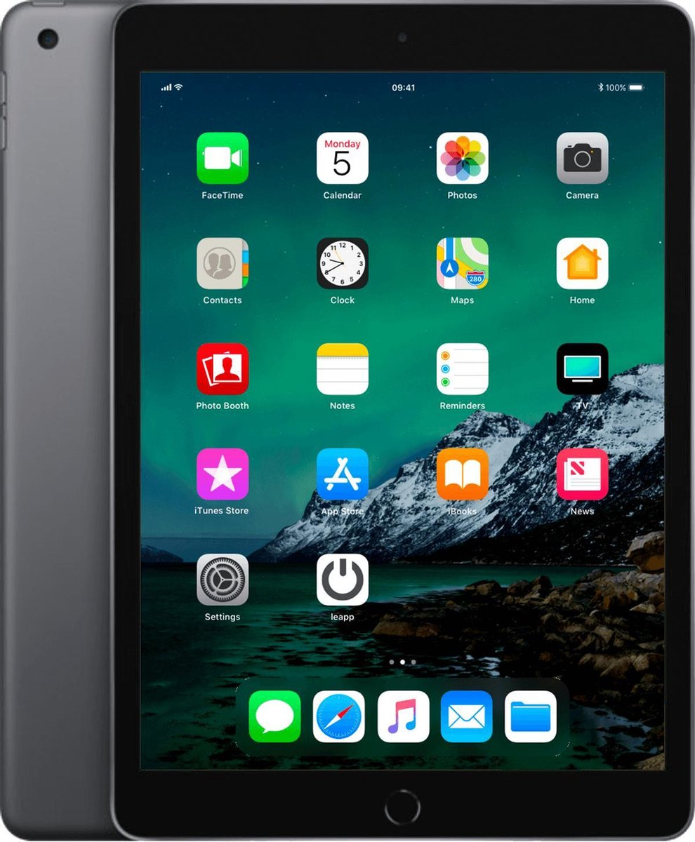 Apple iPad 2019 - 128GB - Wi-Fi - Space Gray - C-grade