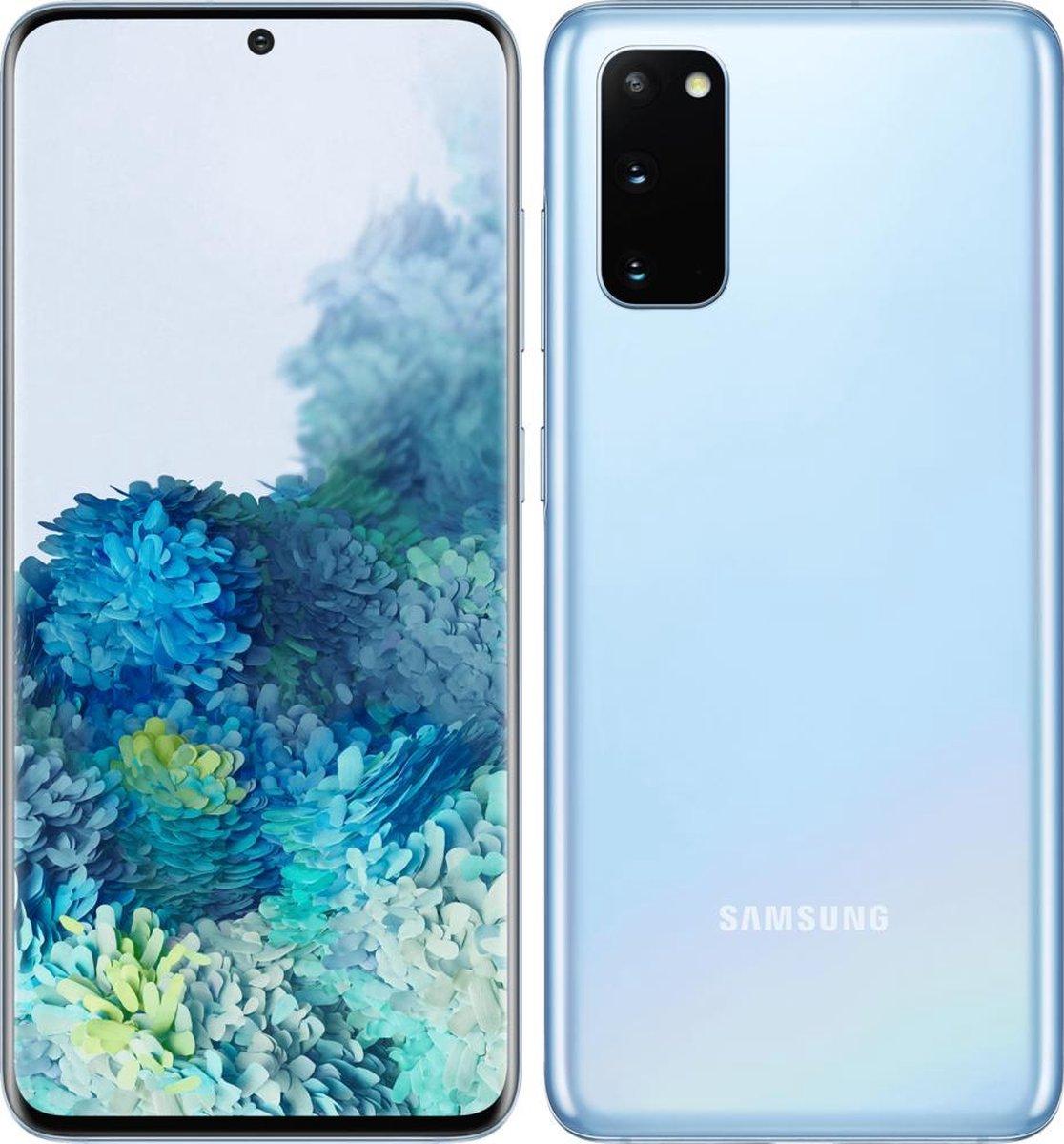 Samsung Galaxy S20 – Alloccaz Refurbished – C grade (Zichtbaar gebruikt)- 128GB – Blauw (Coral Blue)