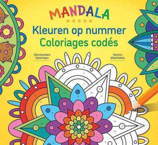 Afbeelding van Mandala Magic - Kleuren op nummer / Mandala Magic - Coloriages codés speelgoed