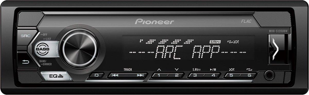 PIONEER MVH-S120UBW - Autoradio enkeldin