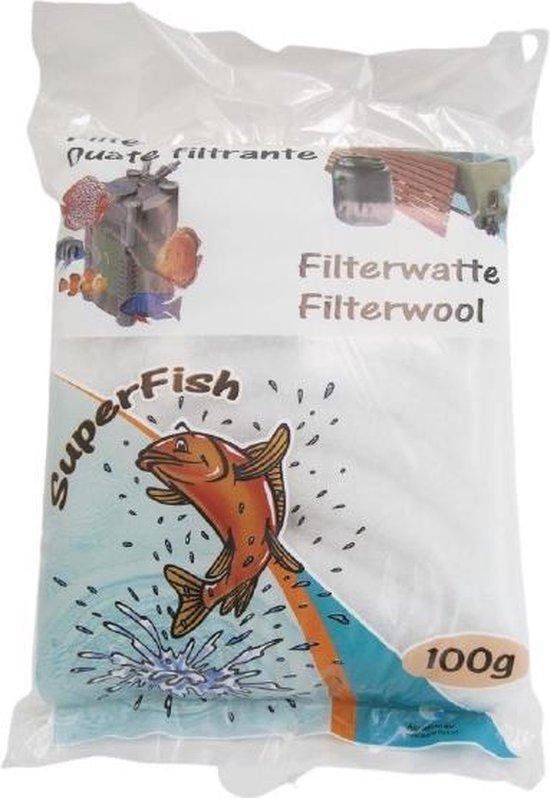 Superfish filterwatten wit - 100 gr