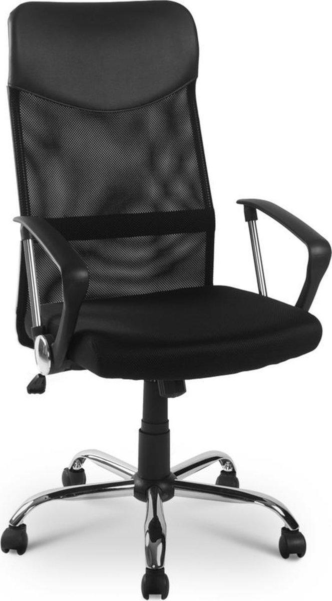 JT Mesh High Back Bureaustoel - Zwart