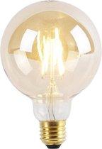 LUEDD E27 3-staps dimbare LED lamp G95 Goldline 5W 550lm 2200K