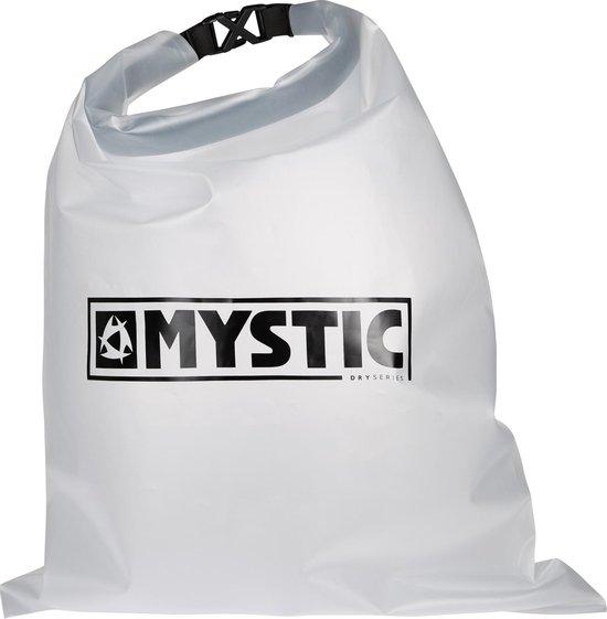 Mystic Zwemtas - wit/zwart (doorzichtig)