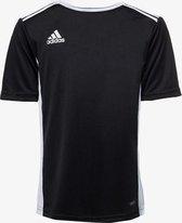 Adidas Entrada kinder sport T-shirt - Zwart