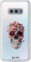 Samsung Galaxy S10e hoesje Transparent Skull Casetastic Smartphone Hoesje softcover case