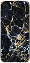 Samsung Galaxy A50 (2019) hoesje Black Gold Marble Casetastic Smartphone Hoesje softcover case