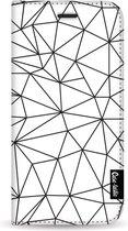 Samsung Galaxy S10 hoesje So Many Lines! Black Casetastic Smartphone Hoesje Wallet Cases case
