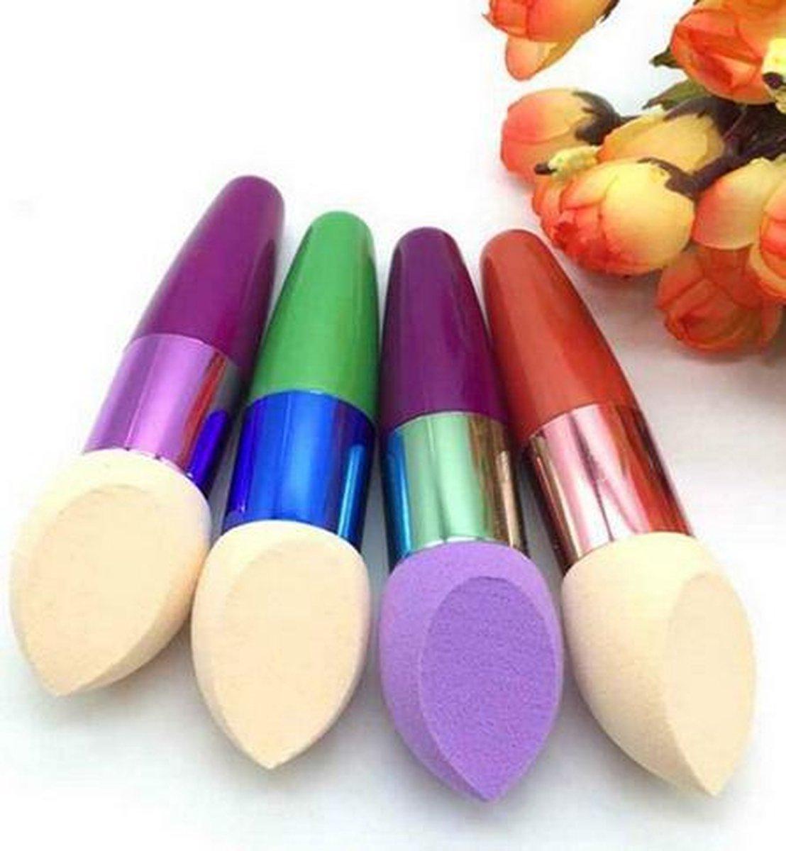 Beauty make-up spons pen makeup Egg shape voor blending foundation / HaverCo - HaverCo