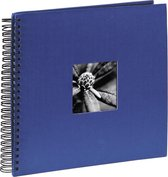 Hama Fine Art spiraal blauw 36x32 50 zwarte pagina's 090142